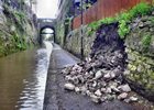 Canal wall collapse, Chester